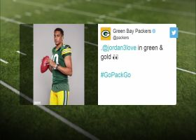 First look: Jordan Love in Packers uniform for photoshoot