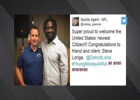 Detroit Lions linebacker Steve Longa becomes United States citizen