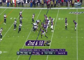 Lamar Jackson hits Mark Andrews with sideline dime for first down