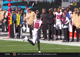 Matt Ryan unloads deep pass to Calvin Ridley for 34 yards