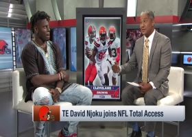 Cleveland Browns tight end David Njoku reveals question he 'keeps hearing' as Browns enter camp