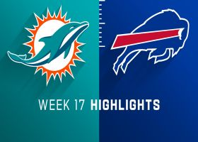 Dolphins vs. Bills highlights | Week 17
