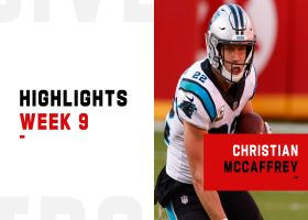 Christian McCaffrey's best plays from 151-yard return to action | Week 9