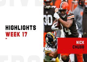 Nick Chubb's best runs from 108-yard game | Week 17