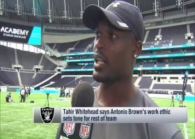 Oakland Raiders linebacker Tahir Whitehead on wide receiver Antonio Brown: He's like the 'Energizer Bunny'