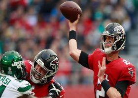 Matt Ryan's best throws vs. Jets in London | Week 5