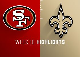 49ers vs. Saints highlights | Week 10