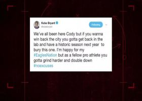 Former NBA guard Kobe Bryant imparts advice to Chicago Bears kicker Cody Parkey on Twitter after field goal miss vs. the Philade