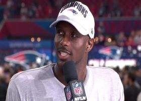 New England Patriots cornerback Jason McCourty talks about going from 0-16 Cleveland Browns to Super Bowl champion Patriots