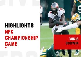 Every touch by Chris Godwin from 116-yard game | NFC Championship Game