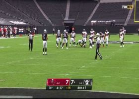 Las Vegas rolls the dice on fake punt to convert on fourth down