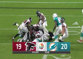 Falcons recover fumble from Allen Hurns