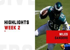 Miles Sanders' biggest plays in his return to action | Week 2