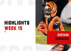 Giovani Bernard's best plays vs. Steelers | Week 15