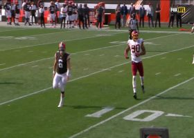 Baker cooks up improv throw to Harrison Bryant for TE's first NFL TD