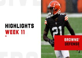 Browns' biggest defensive plays vs. the Eagles | Week 11