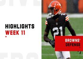 Browns' biggest defensive plays vs. the Eagles | Week 11
