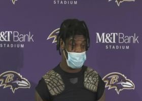 Lamar Jackson: There 'wasn't a doubt in my mind' that we would beat Colts