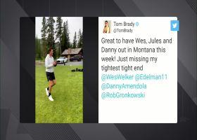 Tom Brady pokes fun at Welker, Edelman, Amendola in Twitter video