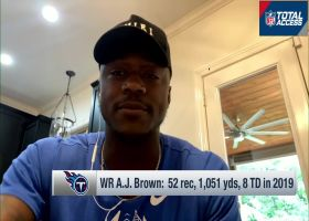 A.J. Brown revisits Titans' 2019 'rollercoaster season'