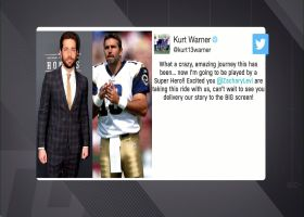 Kurt Warner tweets reaction to Zachary Levi playing him in upcoming film