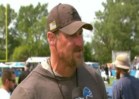 Dan Campbell explains why he did up-downs at Lions training camp