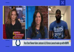 Kalen Jackson, Darius Leonard discuss importance of 'Kicking The Stigma' initiative