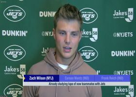 Zach Wilson: I'm watching tape of 'all of the studs' on Jets roster