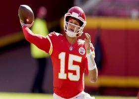 Can't-Miss Play: Mahomes lobs 26-yard fadeaway TD bomb