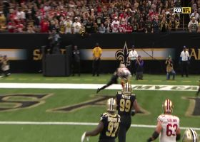 Bourne again! Kendrick scores second TD of game on Jimmy G's dime