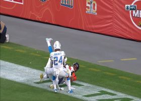 Okwuegbunam gets UP for first NFL TD on top-shelf fastball from Lock