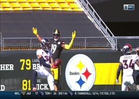 Simmons one-hands Big Ben pass for BIG turnover