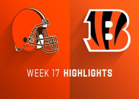 Browns vs. Bengals highlights | Week 17