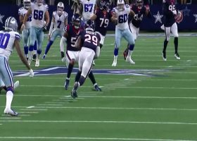 Terrence Brooks seals win with Texans' third INT of Ben DiNucci