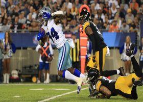 Rico Dowdle shows outstanding balance on 25-yard burst