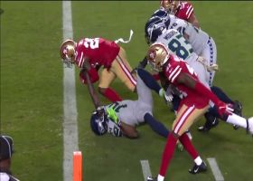 Can't-Miss Play: Niners rip ball from D.K. Metcalf for goal-line stop