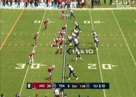 Julio Jones gains 9 yards on first catch on Titans
