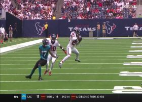 Vernon Hargreaves III baits Trevor Lawrence into second INT