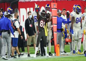 Antonio Brown adjusts for impressive toe-tapping sideline grab