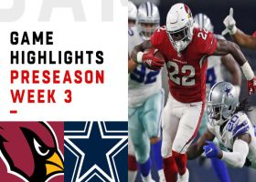Cardinals vs. Cowboys highlights | Preseason Week 3