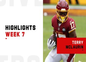 Every catch from Terry McLaurin's 90-yard game | Week 7