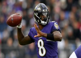 Burleson: Lamar Jackson is 'just scratching the surface'