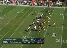 Packers forget to block Akiem Hicks on third-down sack