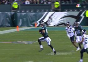 McCown hits Ertz for big 32-yard pickup to start the second half