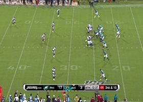 Alex McGough hits Eagles' D with WICKED spin move on third-and-long scramble