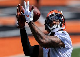 First look: Ja'Marr Chase catching passes at Bengals camp