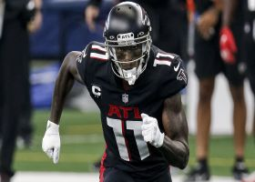 Rapoport: Julio Jones (hamstring) is inactive vs. Bears