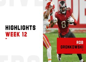 Every catch by Gronk from first 100+ yard game with Bucs | Week 12