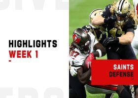 Biggest plays made by the Saints' defense | Week 1