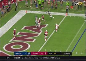 Byron Murphy reads Russell Wilson's throw for key third-and-goal PBU
